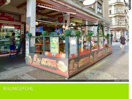 Populärer Gastrobetrieb in frequentierter Lage (Karlsruhe-Innenstadt)