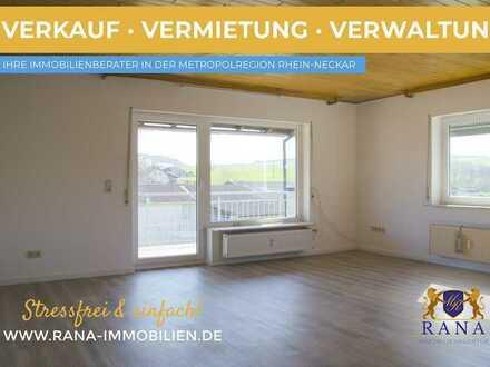 Wohlfühloase mit Weitblick · Großzügige Etagenwohnung mit optimaler Raumaufteilung · Renoviert
