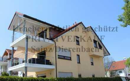 Attraktive 4-Zimmer-Maisonette-Wohnung mit 2 Balkonen/Einbauküche in Ludwigshafen/Rh-Ruchheim