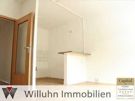 Schöne Zweiraumwohnung im Erdgeschoss für einen schmalen Taler