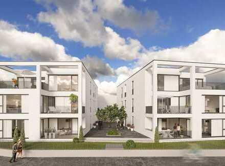 Wohnen direkt am Main - Neue 3-Zimmer Wohnung m. Loggia + Garten (S-Bahn-Anschluss, Barrierefrei)