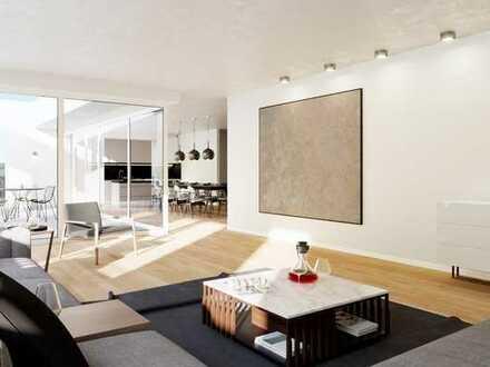Penthouse-Wohnfeeling mit großer Dachterrasse