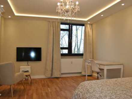 Erstbezug nach Sanierung: exklusive vollmöblierte 1-Zimmer-Wohnung in Ulm am Kuhberg