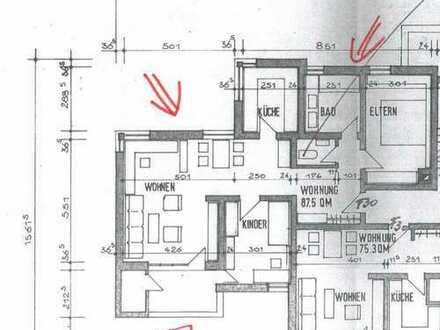 Gepflegte 3-Zimmer-Wohnung mit Balkon in Liederbach am Taunus