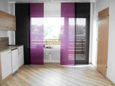 Stilvolle, vollständig renovierte 1-Zimmer-Wohnung mit Balkon und Einbauküche in Bad Bergzabern