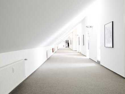 Teilbare helle lichtdurchflutete Bürofläche 195 bis 1800qm mit Blick ins Grüne