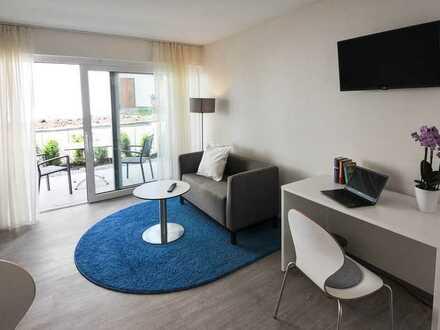 Möbliertes und ruhig gelegenes 1-Zimmer-Appartment in Crailsheim Zentrum