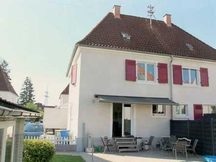 Sanierte 5-Zimmer-Doppelhaushälfte in Weil am Rhein (Gartenstadt)