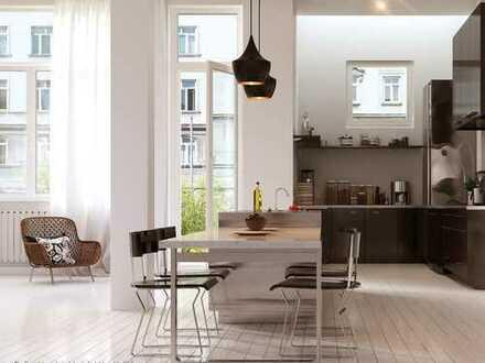 WOHNUNG 6: Bauprojekt ALTE SCHULE KIRCHREIHE WHV - Klassischer JUGENDSTIL trifft urbanen LIFESTYLE