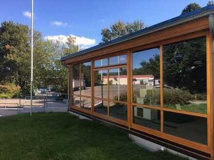 Pavillion einzigartig als Büro- / Ausstellungsfläche