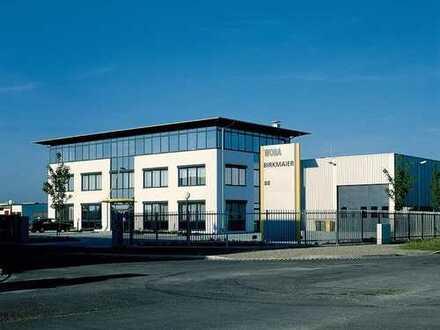 Modernes, repräsentatives Gewerbeobjekt mit Bürogebäude und Fertigungs-Produktionshallen in Augsburg