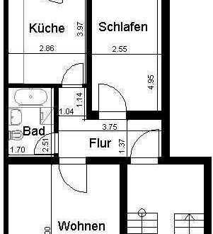 Geräumige 2-Zimmer-Wohnung in Dresden-Stetzsch