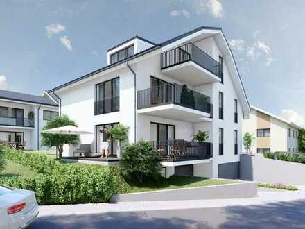 KFW-55 NEUBAU-PROJEKT / GILCHING-GEISENBRUNN / moderne 3 Zimmer ETW in einem kleinen 3-Familienhaus