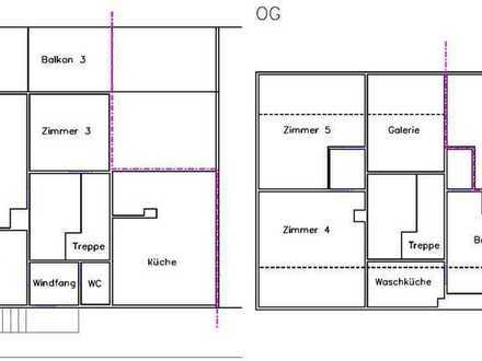 5 Zimmer WG Haus komplett ausgestattet