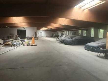 Lager-, Büro-, Werkstatt-, und Hallenfläche mit separaten Küchen-, und WC Räumen (PROVISIONSFREI)