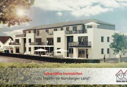 3-Zimmer-Neubau-GARTEN-Wohnung mit Terrasse in schöner Lage von Henfenfeld