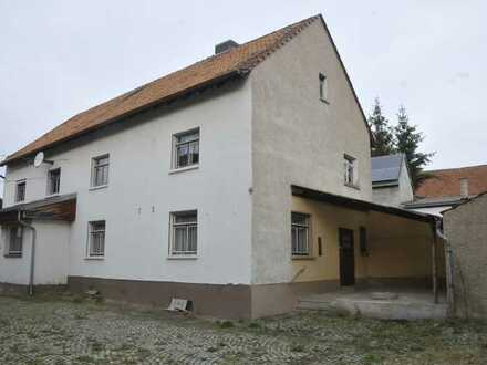 Wohnhaus mit Scheune, Stallungen und großem Grundstück in ruhiger Lage Nähe Eisenach