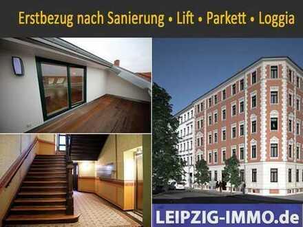 ERSTBEZUG * 3-Raum * Dachgeschoss * EBK * Lift * Dachloggia * Fußbodenheizung * TLB mit Wanne+Dusche