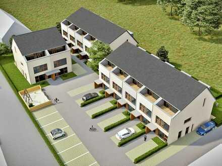 Innovative, ökologische moderne Wohnsiedlung