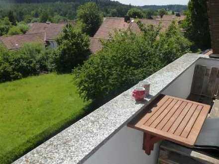 Genießen Sie die tolle Aussicht von dieser gemütlichen 3-Zimmer Wohnung im Dachgeschoss!