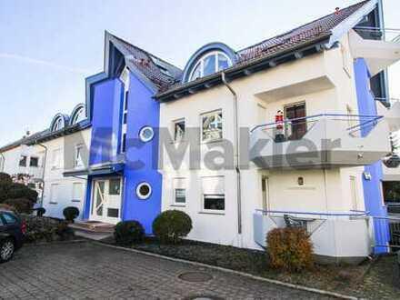 Helles, ruhiges Wohnen: Gepflegte 2,5-Zi.-Whg. mit großem Balkon und Garage in Böblingen-Dagersheim