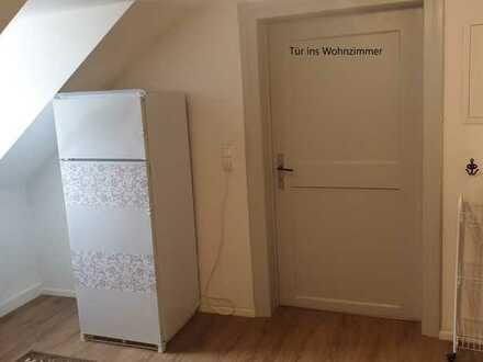 Attraktive Dachgeschosswohnung mit zwei Zimmern in Kempten