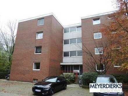Kreyenbrück - Krögerskamp: 1-Zimmer-Wohnung mit Balkon