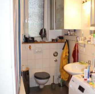 möbliertes Zimmer, Charlottenburg mit Hochbett und Balkon