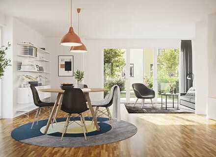 Neubau gut geschnitten 3-Zimmer-Penthouse-Wohnung