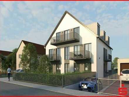 3-Zimmer-Neubauwohnung mit Balkon in ruhiger Wohnlage