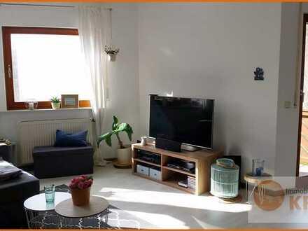 Helle, freundliche 4-Zimmerwohnung im Erdgeschoss mit Balkon in Bad Brückenau-Wernarz zu vermieten