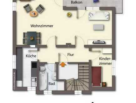 Wohnung mit großem Balkon in guter Wohnlage