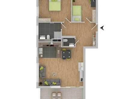 Attraktive 3-Zimmerwohnung mit Balkon! [3]