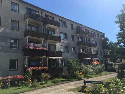 Ruhig gelegene 2-Raum Wohnung mit Seeblick und Südwestbalkon