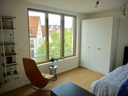 Moderne 1-Zimmer Wohnung mit Einbauküche im Ulmer Fischerviertel in ruhiger Lage