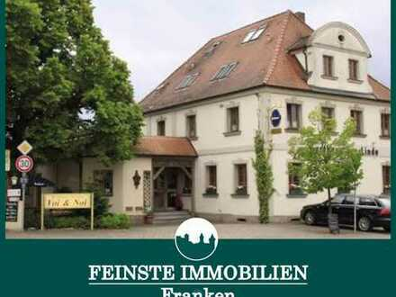 FIF - Apparthotel 19 Zim. & Gasthaus plus DG Wohnung. Verkehrsgünstig gelegenes Hotel nähe Erlangen.