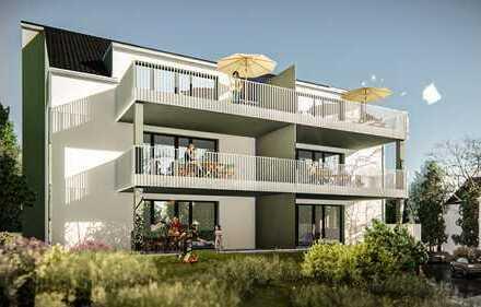 Letzte EG -Wohnung mit 209m² Garten!