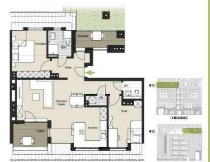 *3-Zimmer Neubauwohnung zu verkaufen!* WE 23