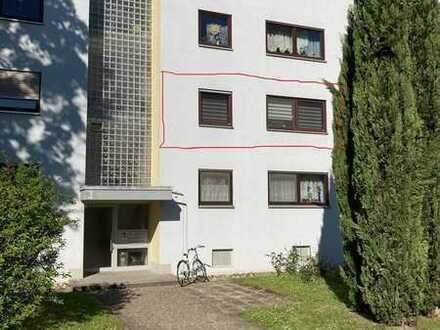 Großzügige, modernisierte 3,5-Zimmer-Wohnung mit Balkon und Einbauküche in Heilbronn