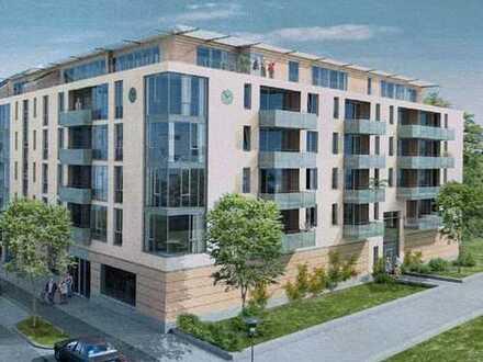 Moderne, lichtdurchflutete Design-Büroflächen mit großer Terrasse