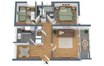 TOP Kapitalanlage: schöne Wohnung in Gundelfingen Alemannenstraße 30