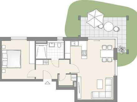 2-Zimmer Wohnung mit eigenem Garten! (301)
