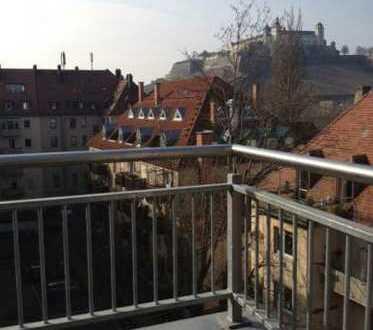Sanierte 3-Zimmer-Maisonette-Wohnung mit Einbauküche in Würzburg