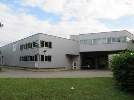 + Umschlags- und Hochregallager, Handelsfläche in Top-Lage, Industriegebiet Wiesbaden-Biebrich +