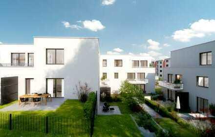 Helle 3 Zi in Süd/West Lage mit Terrasse u. Garten - Blick ins Grüne! KfW 55 Förderung