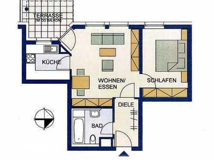 Exklusive, neuwertige 2-Zimmer-Terrassenwohnung mit Balkon und EBK in Ludwigsburg (Kreis)