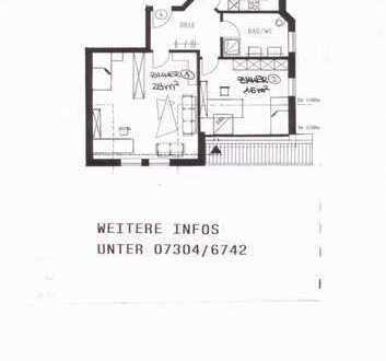 2-Zimmer-DG-Wohnung in Dornstadt-Bollingen
