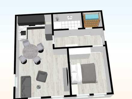 Souterrainwohnung - 10 - mit 49,79 m²