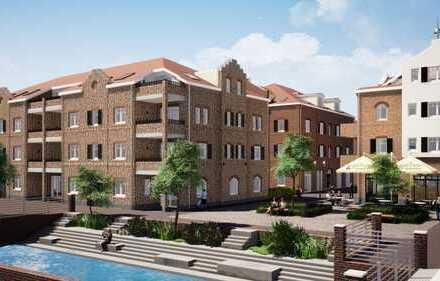 Gehobene 3-Zimmer-Wohnung mit zwei Balkonen (Süd-Ost & Westausrichtung) mitten im Zentrum von Rhede