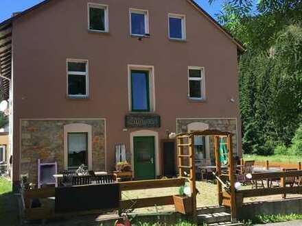 Teichhaus in Holzhau - Einzigartiges sucht einzigartigen neuen Inhaber